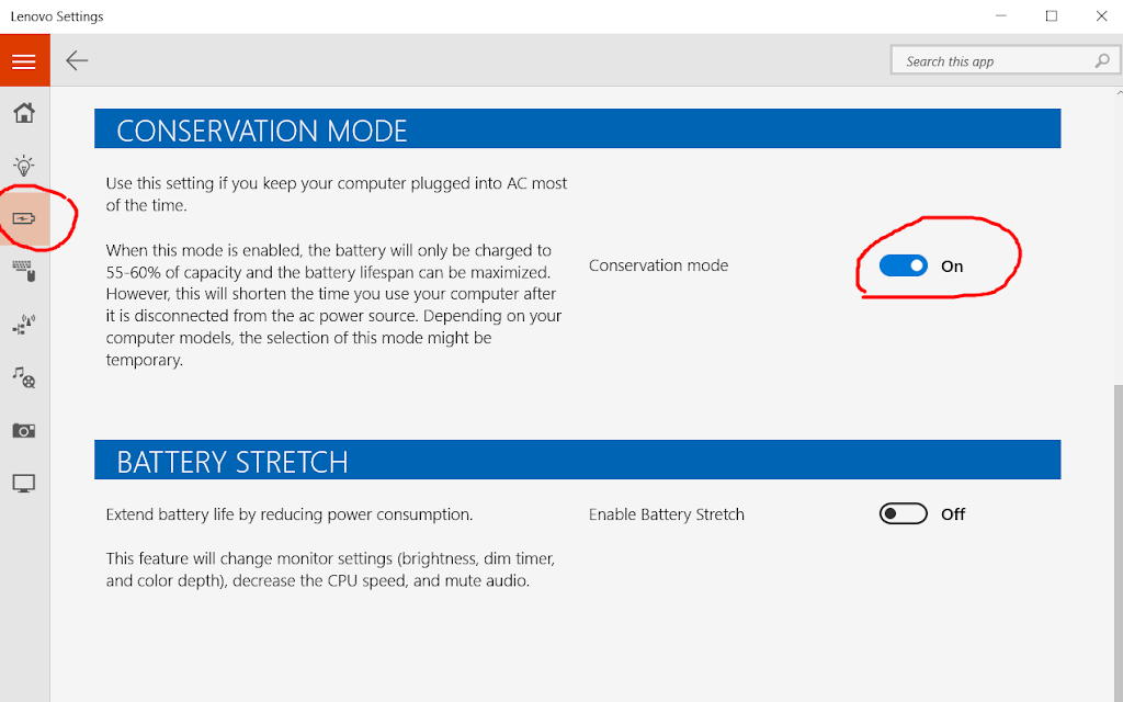 Apa Kegunaan Battery Conservation Mode